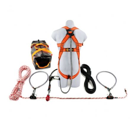 20m Rope Restraint Lifeline Kit (1 Person)